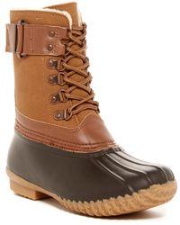 Jambu - Nova Scotia Faux Fur Lined Boot - Lyst