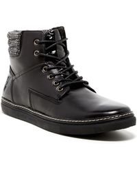 Joe's Jeans - Benny Leather High Top Trainer - Lyst