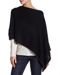 In Cashmere - Studded Cashmere Shawl - Lyst