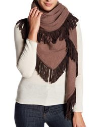In Cashmere - Two Toned Cashmere Scarf - Lyst
