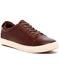 Joe's Jeans - Court Shoes Perforated Trainer - Lyst