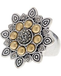 Lucky Brand - Flower Ring - Size 7 - Lyst