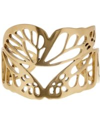 Lucky Brand - Butterfly Wing Cuff Bracelet - Lyst