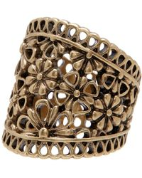 Lucky Brand - Lace Openwork Ring - Size 7 - Lyst