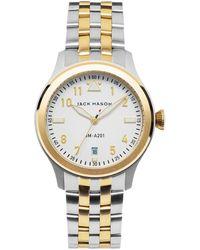 Jack Mason Brand - Aviation Bracelet Watch - Lyst