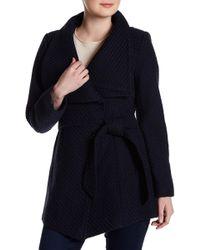 Jessica Simpson - Notch Collar Coat - Lyst