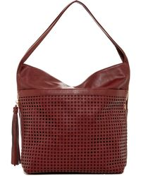 Big Buddha - Bev Perforated Hobo - Lyst