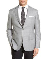 John W. Nordstrom - Classic Fit Plaid Wool Sport Coat - Lyst