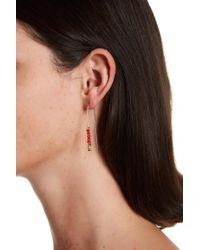 Kenneth Cole - Beaded Drop Earrings - Lyst