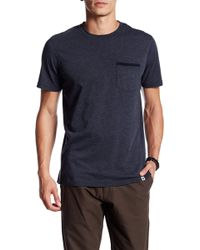 ourCaste - Cassidy Short Sleeve Pocket Tee - Lyst