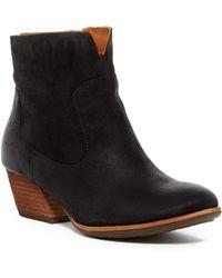 Kork-Ease - Natalya Leather Wedge Boots - Lyst