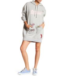 Betty and Veronica by Rachel Antonoff - Patch Hoodie Dress - Lyst