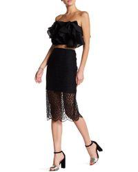 Keepsake - Wanderer Lace Skirt - Lyst