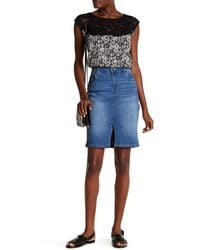 Kut From The Kloth - Rosie Denim Pencil Skirt - Lyst