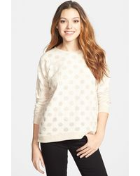 Kensie - Burnout French Terry Sweater - Lyst