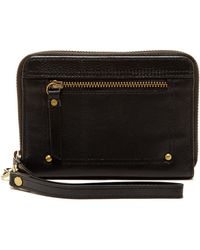 Lucky Brand - Lena Leather Zip Around Wallet - Lyst