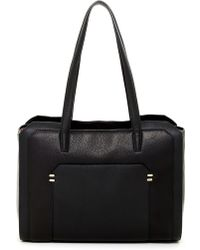 Luana Italy - Parker Leather Tote - Lyst