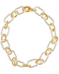 Lauren by Ralph Lauren - Two-tone Link Necklace - Lyst