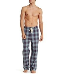Lucky Brand - Plaid Woven Pant - Lyst
