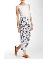 Olive & Oak - Floral Print Lounge Jumpsuit - Lyst