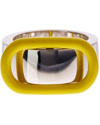 Marc By Marc Jacobs - Enamel Buckle Up Ring - Lyst