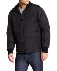 Victorinox - Reinbach Dual Function Quilted Vest Jacket - Lyst