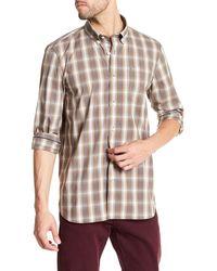 Victorinox - Long Sleeve Plaid Standard Fit Shirt - Lyst