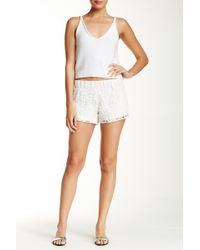 Macbeth Collection - Crocheted Lace Short - Lyst