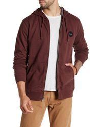 RVCA - Solo Motors Zip Sweater - Lyst