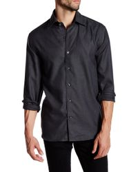 Cutter & Buck - Long Sleeve Epic Easy Care Dobby Button Up Shirt - Lyst