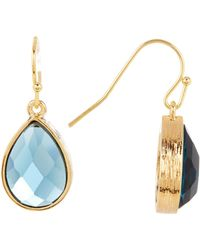 Melinda Maria - Shelly London Topaz Drop Earrings - Lyst