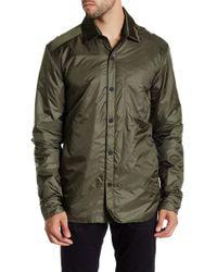 Apolis - Spread Collar Snap Button Jacket - Lyst