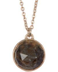 Melinda Maria - Hunter Labradorite Pendant Necklace - Lyst