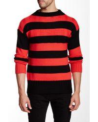 HUNTER - Striped Wool Sweater - Lyst