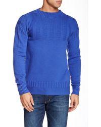 HUNTER - Crew Neck Knit Sweater - Lyst