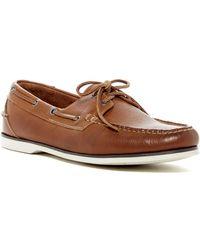 Peter Millar - Vintaged Leather Boat Shoe - Lyst