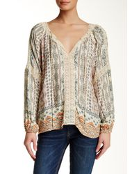 Hiche - Printed Blouse - Lyst