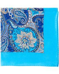 Burma Bibas - Persian Silk Pocket Square - Lyst