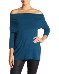 Laundry by Shelli Segal - Off The Shoulder Sweater - Lyst