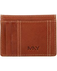 Marc New York - Sergio Leather Card Carrier - Lyst