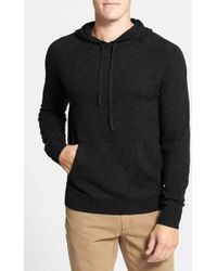 1901 - Merino Wool And Cashmere Hooded Jumper - Lyst