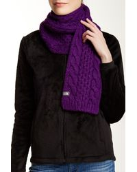 The North Face - Cable Minna Scarf - Lyst