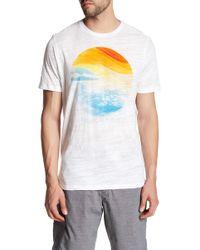 Howe - Sun And Sea Short Sleeve Tee - Lyst