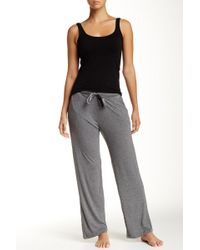 Nicole Miller - Relaxed Drawstring Sweatpant - Lyst