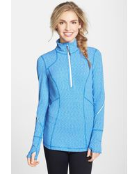 Zella - My Run Layer Half Zip Pullover - Lyst