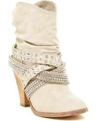 Not Rated - Overload Embellished Bootie - Lyst