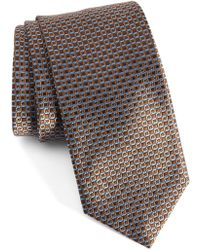 David Donahue - Geometric Silk Tie - Lyst