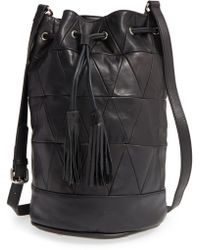 Nakedvice - 'the Stevie' Leather Bucket Bag - Lyst