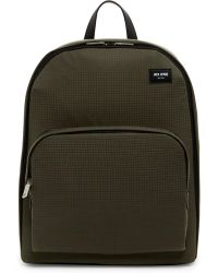 Jack Spade - Checkered Leather Trim Backpack - Lyst