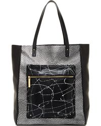 L.A.M.B. - Ibis Large Leather Tote - Lyst